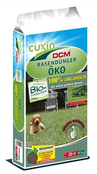 CUXIN DCM Rasendünger Öko (100% organisch)
